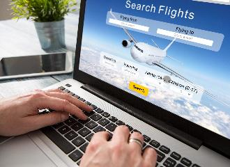 thumbnail of Booking Flights Online